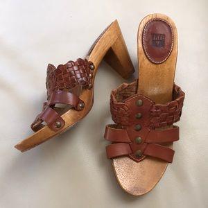 Frye clog mule slide sandals 7